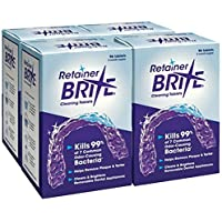Retainer Brite Cleaning Tablets 1 year Supply (384