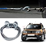 AllExtreme Strong Steel Towing Synthetic Winch Rope 3 Tons Capacity (8mm, 4 Meters)