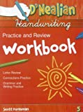 D'Nealian Handwriting: Practice and Review Workbook, Grade 5