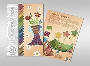 Ursus cartón struktura Vintage Craft bloque 2, 220G qm