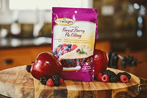 Mrs. Wages Create Forest Berry Pie Filling Fruit Mix, 4 Ounce (Pack of 12) by Mrs. Wages (Image #1)