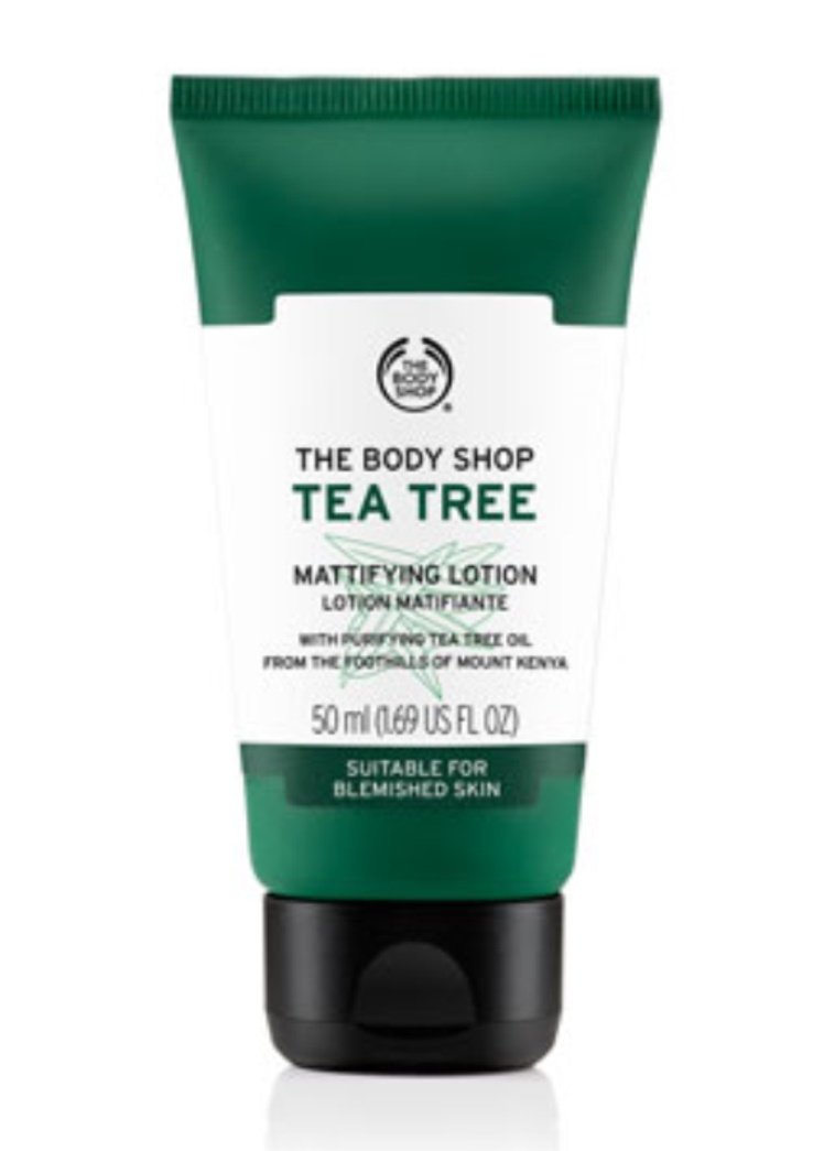 The Body Shop Gel Idratante Opacizzante al Tea Tree 50ml 832295