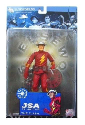DC Direct Elseworlds Series The Flash Figure - JSA Liberty Files Dc Direct Elseworlds Series