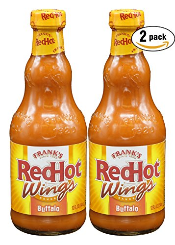 Frank's RedHot Buffalo Sauce, 12oz (Pack of 2, Total of 24 ()