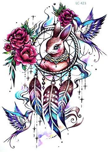 Atrapasueños Tattoo para brazo espalda hombro piernas lc423 ...