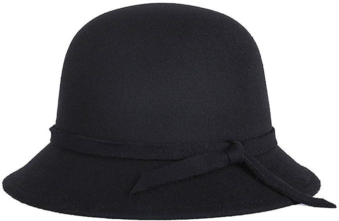 Targogo Sombreros Sombrero De Campana Para Mujer Sombrero Elegante ...