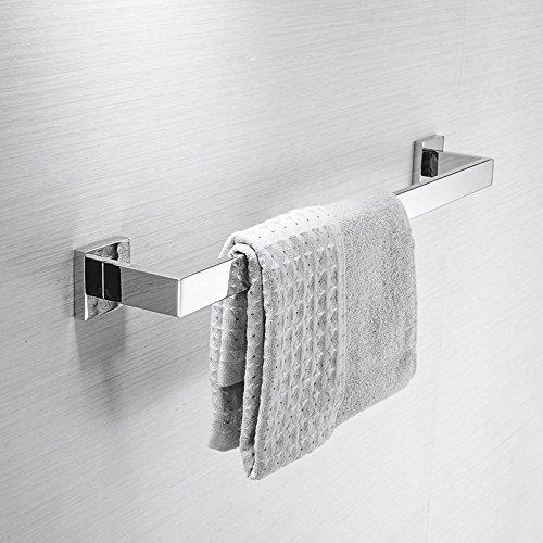 Amazon.com: Taoliangad UNA sola palanca Barras de toalla de bao de Acero inoxidable Tienda Punch-Free Toallero barra Doble wc gruesa de Acero inoxidable 304 ...