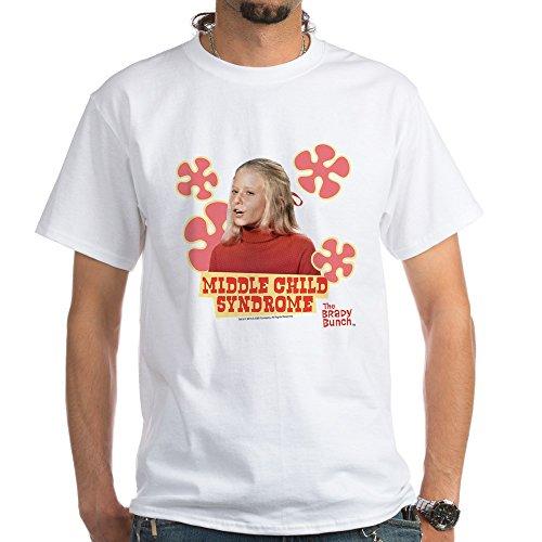 CafePress The Brady Bunch: Jan Brady White T-Shirt 100% Cotton T-Shirt, White ()