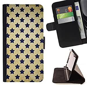 Dragon Case- Mappen-Kasten-Prima caja de la PU billetera de cuero con ranuras para tarjetas, efectivo Compartimiento desmontable y correa para la mu?eca FOR Samsung Galaxy S5 V SM-G900 G9009 G9008V- Super Stars stars