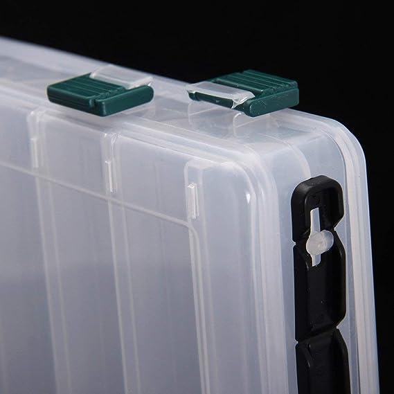 Haken Köder Aufbewahrungsbox Koffer Zubehör Organizer Schwarz PE Werkzeug