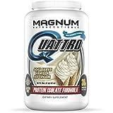Magnum Nutraceuticals Quattro Protein Powder - 2lbs - Vanilla Ice Cream - Protein Isolate - Lean Muscle Creator - Metabolic Optimizer
