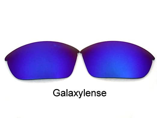 c19bffa7afd Galaxy Replacement Lenses for Oakley Half Jacket Blue Color Polarized   Amazon.co.uk  Clothing