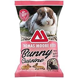 TMF 100% Premium Quality Bunny Rabbit Cuisine Premium Feed , 20 lb