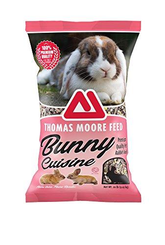TMF 100% Premium Quality Bunny Rabbit Cuisine Premium Feed , 20 (Premium Rabbit Food)