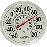 Springfield Indoor/Outdoor Thermometer (8-inch)