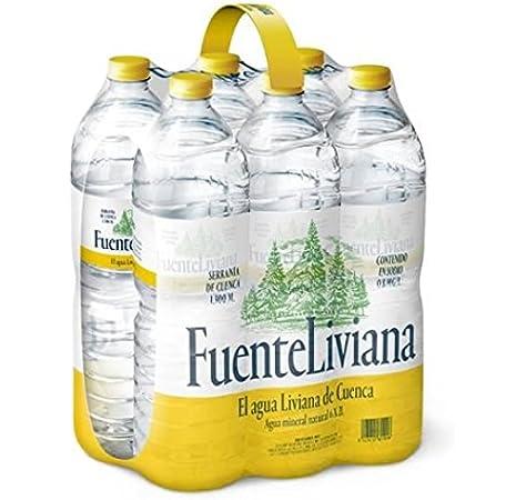 Fuente Liviana Pack 6 Bot 2 L: Amazon.es: Alimentación y bebidas