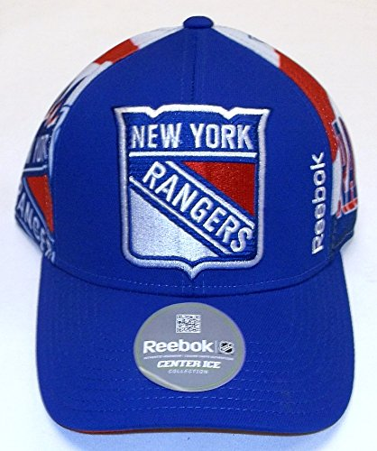 New York Rangers Reebok NHL Official Playoff Structured Adjustable Hat