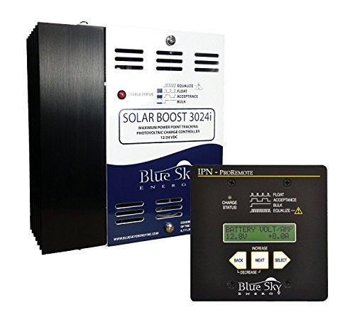 Blue Sky SB3024iL MPPT Charge Controller and IPN ProRemote Display Kit, SB-RVK