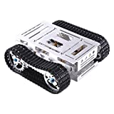 Robot Car Chassis RC Car Model Parts Smart Tank Platform Assembly Upgrade Accessories DIY Battle Tank Set with Track