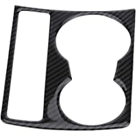 KIMISS Consola central del coche de carbono Soporte