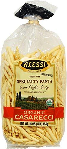 Alessi Italian Specialty Pasta, Organic Casarecii, 16 Ounce