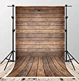 Kate 5x7ft Brown Wood Texture Photography Backdrops Vintage Wooden Floor Photo Background