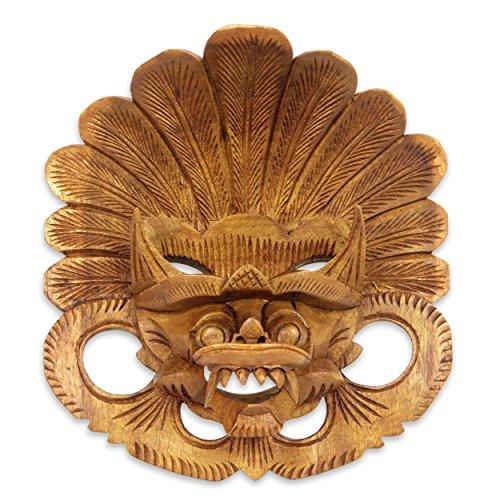 "NOVICA ""Balinese Protector"" Wood Mask"