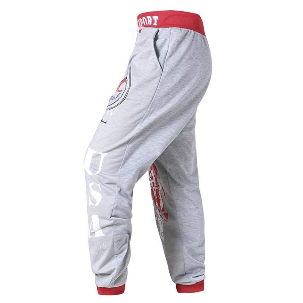 OWMEOT Clearance Big Boys' Jogger Pants in Basic Stretch Twill Fabric Sports Pants (Red, 2XL)