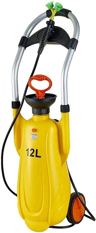 TGBY Estación Lavaojos móvil de Emergencia de Seguridad con los Ojos Aclarar pulverizador for la Industria de Laboratorio, de 3 galones (12L) Fácil de operar 1217