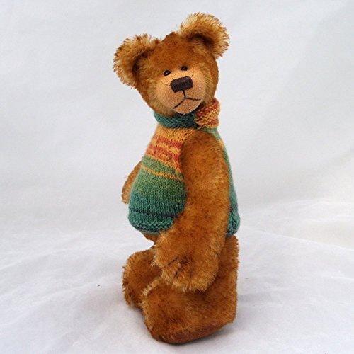 Gold Mohair Bear - 4