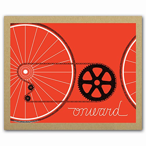 Bicycle Adventure GreenNotes Boxed Notecards, Eco-Friendly Stationery Set