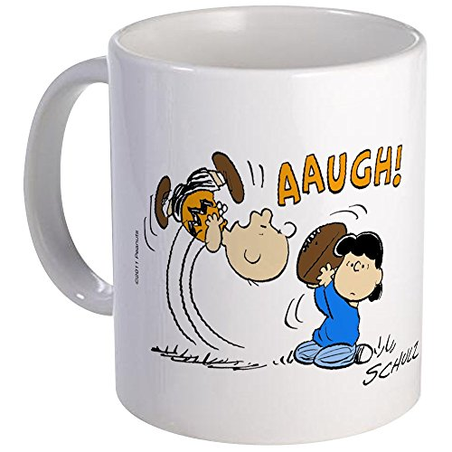 CafePress - Football Frustration Mug - Unique Coffee Mug, Coffee Cup ()