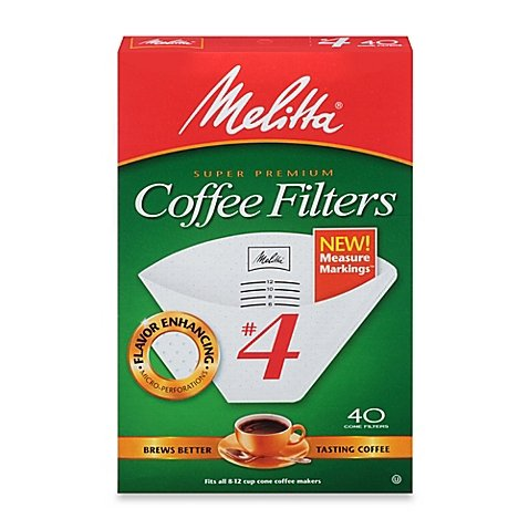 coffee filter 4 white - 2