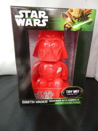 Star Wars Red Darth Vader Gumball Machine Dispenser with sound -