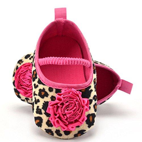 Belsen - Zapatos primeros pasos de Material Sintético para niña marrón marrón M
