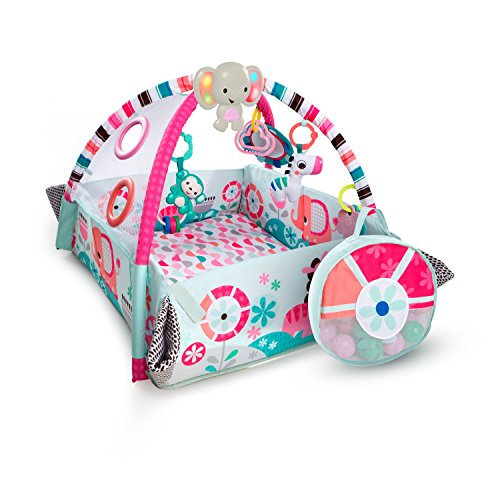 Bright Starts 5-in-1 Your Way Ball Play Pink Activity Gym ()