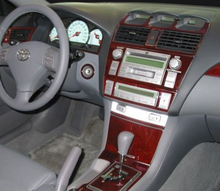 51Rg 5Rs56L amazon com toyota solara interior burl wood dash trim kit set 2008 Toyota Solara Interior at gsmx.co