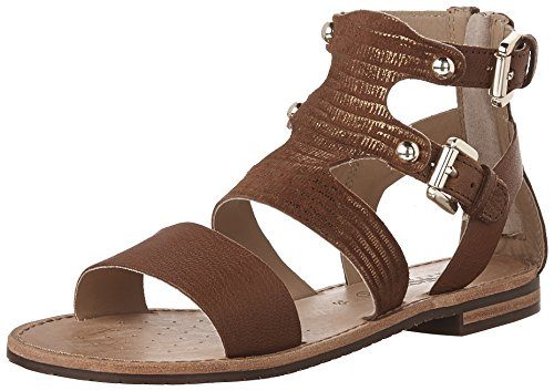 D Women's Sozy G Flat Brown Geox Sandals aHwq8q