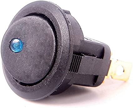 Myshopx Kippschalter Wippschalter Schalter On Off 20a 12v Ein Aus Blau 1 StÜck 14 Auto