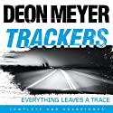 Trackers Audiobook by Deon Meyer Narrated by Saul Reichlin, Rupert Degas, Sandra Duncan