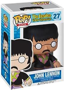 Amazon Com Funko Pop Rocks The Beatles John Lennon Vinyl Figure Toys Games