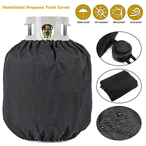 - wonderfulwu Ventilated Propane Tank Durable Weatherproof Dust Cover