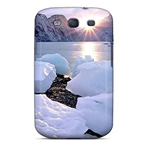 Galaxy S3 Case Bumper Skin Cover For Sunrise In Spring Up North Accessories