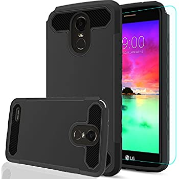 LG Stylo 3 Case,LG Stylo 3 Plus Case,LG Stylus 3 case with HD Screen Protector,AnoKe[Prism Series]Heavy Duty Dual Layer Protective Hybrid Armor Defender ...