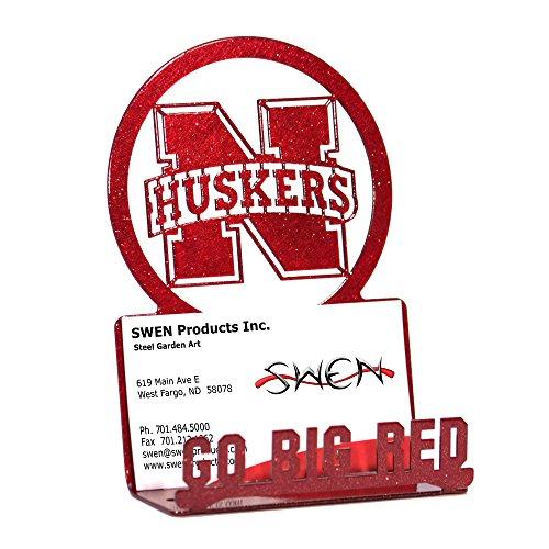 (SWEN Products Nebraska Huskers Business Card Holder)