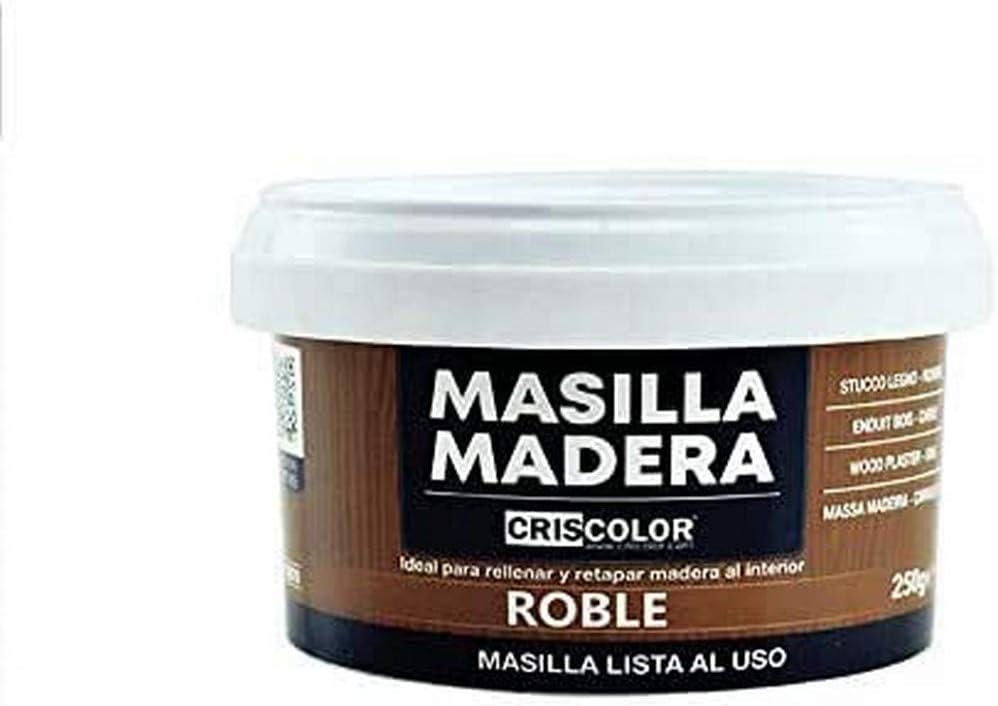 CRISCOLOR Masilla Madera Roble, ENVASE 250gr.
