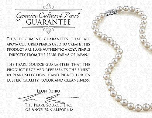 Or 14K Pendentif Perle de culture Akoya et diamant japonais Alexandra