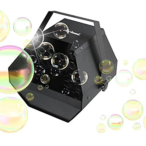 Zerhunt Professional Automatic Party Bubble Machine Maker with High Output, Portable Blowing Mechanism for Parties,Wedding,Disco and Stage - Party Machine