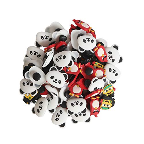 30 pcs PVC Different Shoe Charms Fit for Clog Shoes Decoration Wristband Bracelet Party Gifts (30pcs)