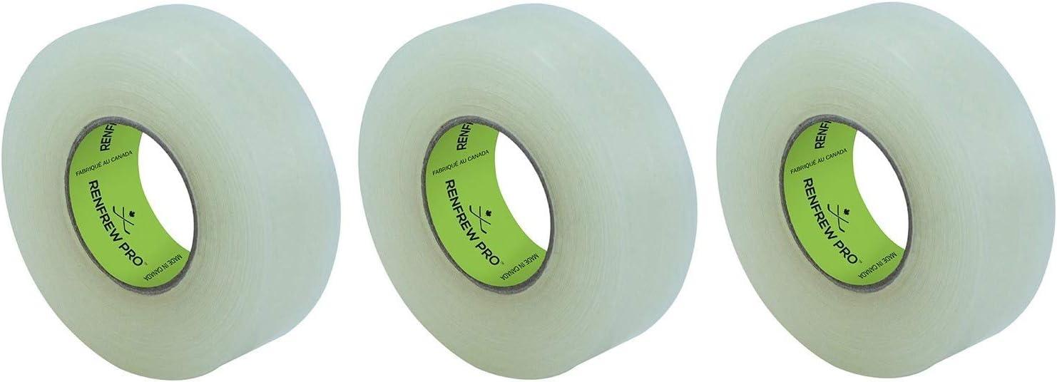 "NEW Renfrew Hockey Shin Guard Clear Tape X 25M 1/"" 27 yds 10 Rolls 24MM"